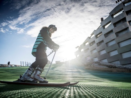 Copenhagen has turned a mountain of trash into a slope that residents can actually ski down