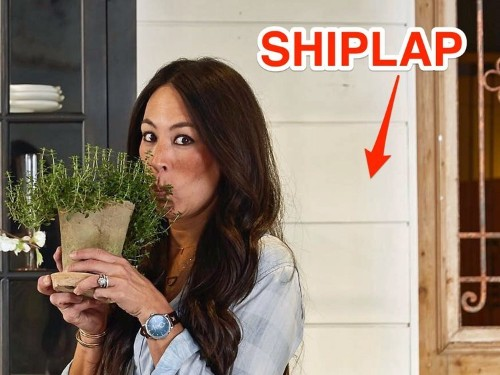 The design world is obsessed with shiplap — the rustic material that's taking over America's homes