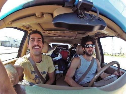 2 Buddies From California Quit Their Jobs To Take An Epic Road Trip Across 13 Countries