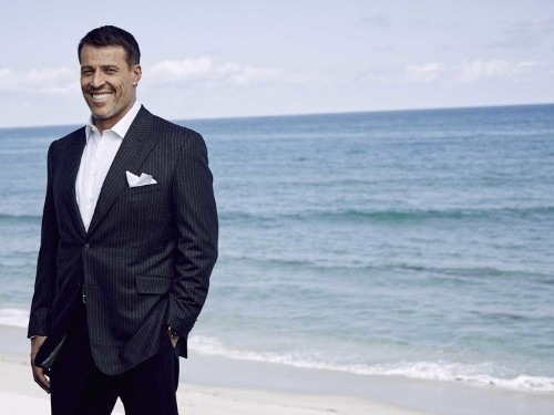 Tony Robbins says the smartest thing he's ever done with his money is a habit he started at age 24
