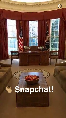 The White House just joined Snapchat — here's its first-ever Story
