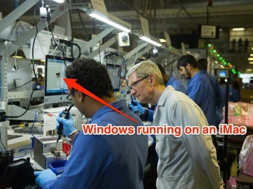 Apple Caught Using Windows XP In Its iPhone Testing Facility