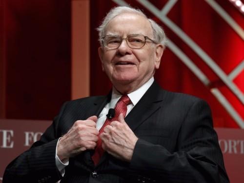 Warren Buffett's favorite stock market indicator is calling the top