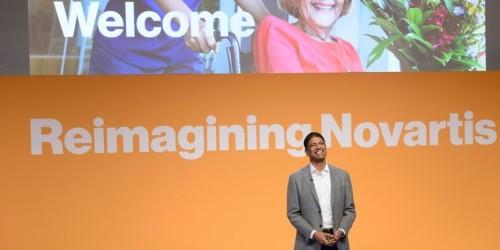 Novartis CEO Vas Narasimhan interview on M&A and deal strategy