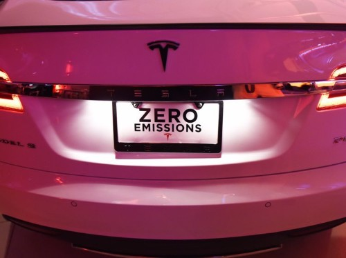 Tesla's license plate mystery is no mystery at all