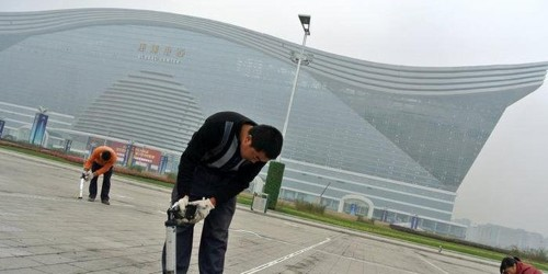 The World's Biggest Building Just Opened In China