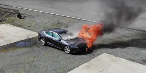 Tesla is updating its battery software after 2 seemingly spontaneous fires
