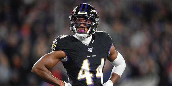 Marlon Humphrey says Ravens losers, chokers after loss to Titans - Business Insider
