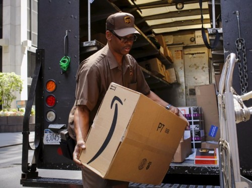 The relationship between UPS and Amazon, its biggest client, is fraying