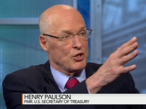 HANK PAULSON: 'That's bulls--t'