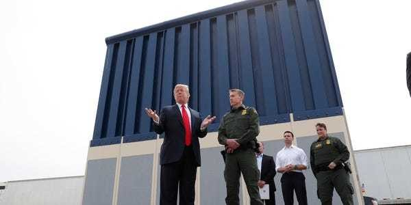 Smugglers are cutting through Trump's border wall with power tools - Business Insider