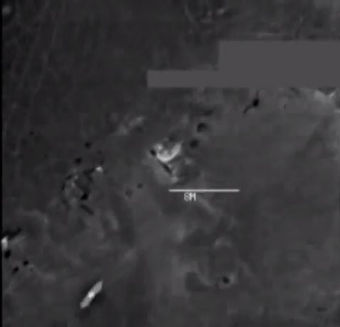 The US Military Just Released Videos Of A Strike Against An ISIS Electronic Warfare Unit