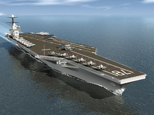 Here's how the US Navy tests their new aircraft carrier's catapults
