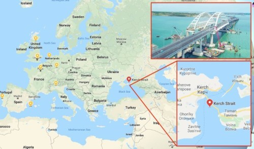 The Russians are screwing with the GPS system to send bogus navigation data to thousands of ships