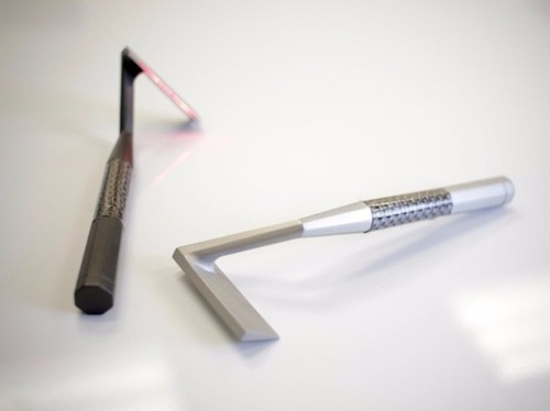 A futuristic razor that shaves hair with a laser has raised nearly $4 million on Kickstarter