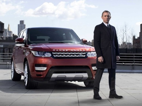 Thieves Have Stolen $1 Million Worth Of James Bond Range Rovers