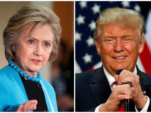 People in Clinton states are Googling totally different things than people in Trump states