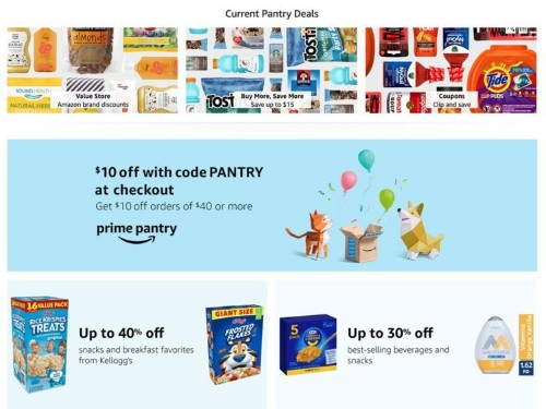 Amazon Prime Day 2019: Prime Pantry Deals You'll Love