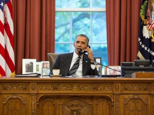 Here's How The Historic Phone Call Between Obama And Hassan Rouhani Happened