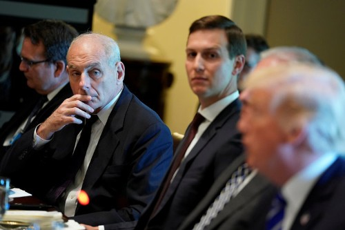 Trump's family is reportedly furious with John Kelly, and the sides may enter a 'death match'