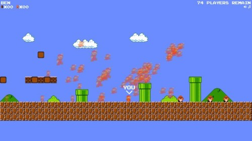 Play this amazing, free Battle Royale version of 'Super Mario Bros.' before Nintendo shuts it down
