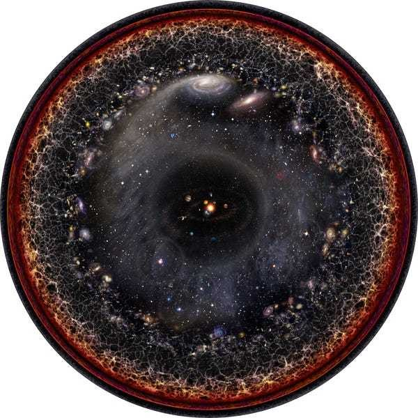 The entire universe fits in one image with a math trick - Business Insider