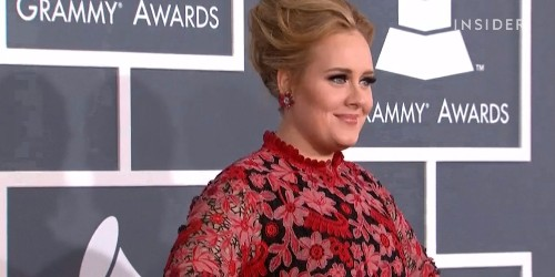 Adele has an awesome take on body image