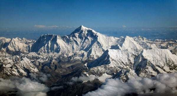 The tallest place on Earth is nowhere near Mt. Everest - Business Insider