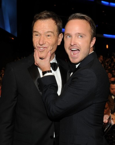The Internet Is Fuming That Aaron Paul And Bryan Cranston Didn't Win Emmys