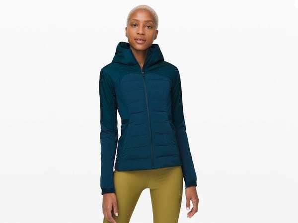 Lululemon Down For It All Jacket review: versatile, lightweight workout jacket - Business Insider