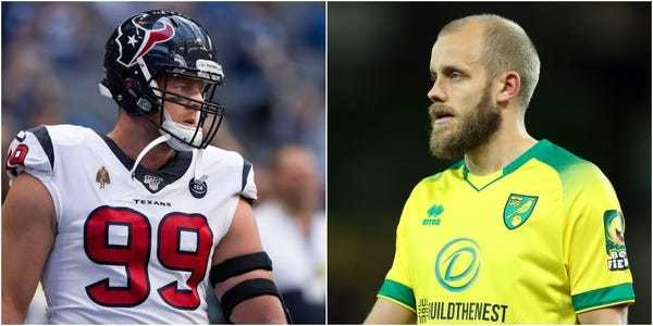NFL's JJ Watt says he has fallen in love with soccer and Teemu Pukki - Business Insider