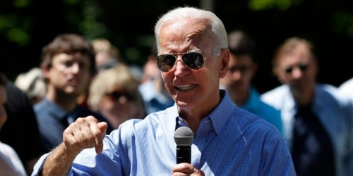 Biden says he would challenge Trump to do push-ups if Trump mocked him
