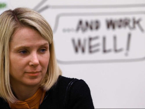 Marissa Mayer Finally Has A Plan For Yahoo To Steal Mobile Ad Revenue From Facebook And Google