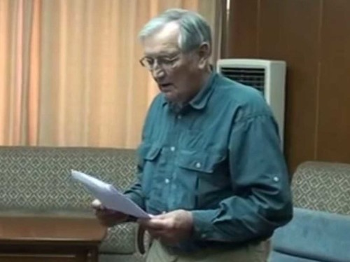Here's The 'Apology Letter' North Korea Claims Was Written By The 85-Year-Old Veteran Being Held Hostage