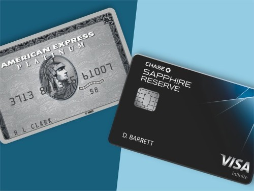 I pay $1,000 in annual fees for the Chase Sapphire Reserve and the Amex Platinum — and as far as I'm concerned, the math checks out