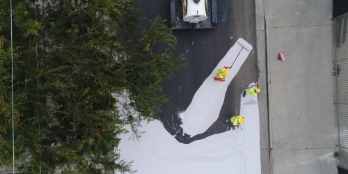 Here's why coating our streets white could help lower temperatures in the summer