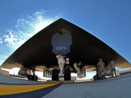 The US Air Force is upgrading the B-2 stealth bomber to fly until 2050