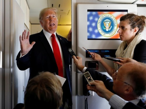 Air Force One flights with Trump: What it's like according to staffers