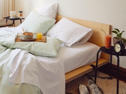 Brooklinen linen bed sheets: soft breathable bed sheets for summer