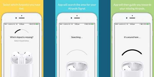 This iPhone app will help you find your missing AirPods - Business Insider