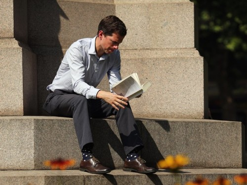 The reading list emailed to UBS investment bankers