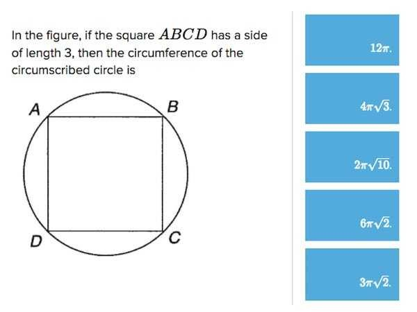 How to solve a hard ACT geometry question - Business Insider