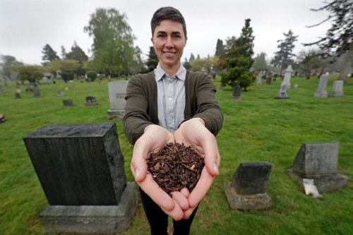Washington to allow human composting to turn dead bodies into soil