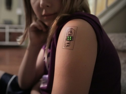 These tech tattoos will let you become a cyborg without the usual commitment