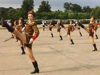NORTH KOREA'S TURN: DPRK Commandos Hold Invasion Drill