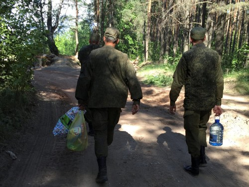 Russia is building up forces on its western frontiers as standoff with NATO deepens