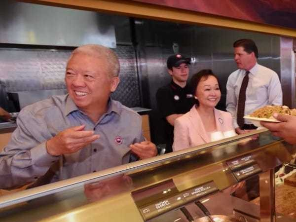 Meet Panda Express' billionaire founders Andrew and Peggy Cherng - Business Insider