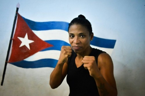 In Cuba, woman boxer fights to get into ring