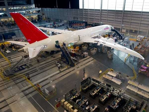 Airlines complain about Boeing 787 Dreamliner quality, production - Business Insider