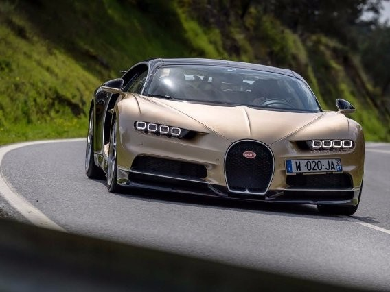 The Bugatti Chiron can't go over 300 MPH because no tire can handle it
